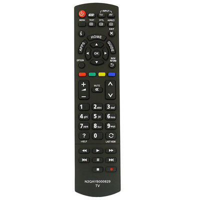 Replacement Panasonic N2QAYB000830 3D Apps HOME Remote Control