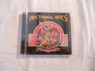 """Nocturnal Rites """"Tales of mistery and immagination"""" 1998 cd Century Media New £"""