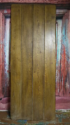Repro Quality Solid Oak Made to Measure Plank Ledge Braced Cottage Doors nr York