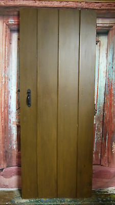 PR1 29 1/2 x 76 1/2 Repro quality pitch pine ledge cottage door in yorkshire