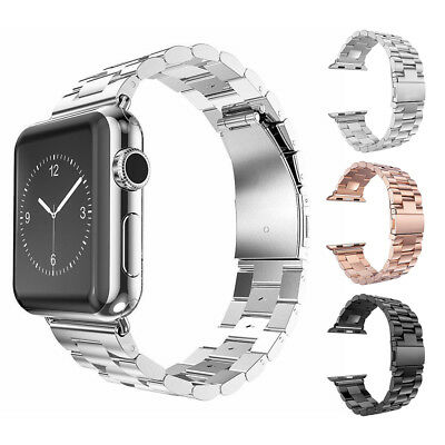 Acero Inoxidable correa Reloj para Apple Watch banda 38/42mm iWatch