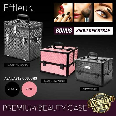 Professional Makeup Case Cosmetics Organiser Beauty Travel Portable Carry Box