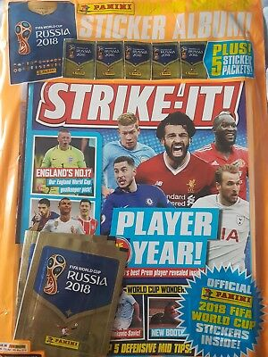 STRIKE-IT  ISSUE 86 12th Apr- 9th May 2018  with free gifts