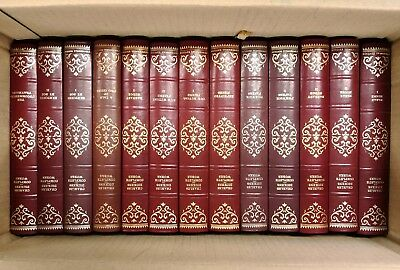 JOB LOT Centennial Edition Complete Works Charles Dickens x36 H/B Books RED/GOLD