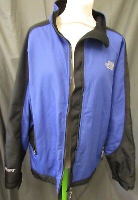 The North Face Summit Series Black & Blue Jacket Size L     #nun A23 Jt