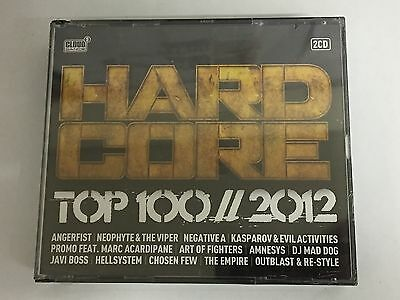 Hardcore Top 100 - 2012 - Various Artists (2 CD Set) NEW & SEALED