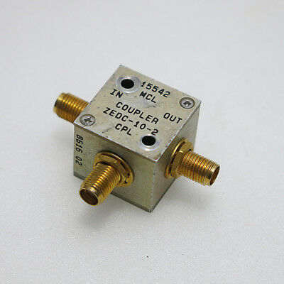 1PC Mini-Circuits ZEDC-10-2 SMA RF Coaxial Directional Coupler