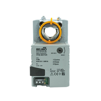 Belimo 24V, 90 second, 45 in-lb Actuator for ZD, SD, & EB Dampers FP45-Motor