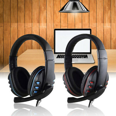 Durable Stereo Gaming Headset Headphone Wired with Mic for PC Xbox One