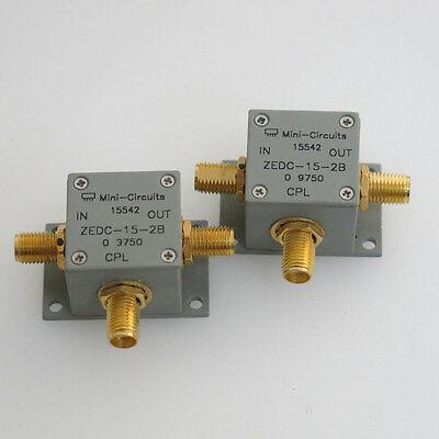 1PC Mini-Circuits ZEDC-15-2B 1-1000MHz 15db SMA Coaxial Directional Coupler