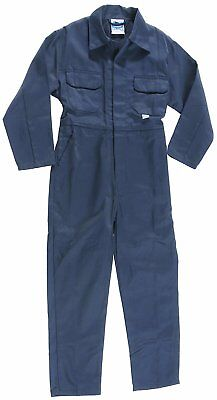 Blue Castle 333/NV-34 34-Inch Tearaway Junior Coverall Boilersuit - Blue