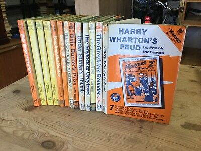 The Magnet BILLY BUNTER Annual Books Vintage 1970s 13 Books Comic 1920s