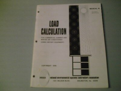 Load Calculations For Commercial Summer & Winter Air Conditioning  NESCA 66 Page