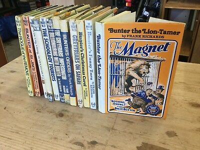 The Magnet BILLY BUNTER Annuals Vintage 12 Books Frank Richards 1920s Comics