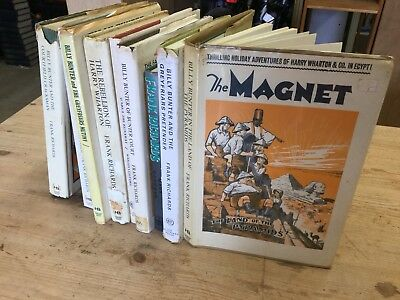 Collection 9 Books Vintage Annuals THE MAGNET Billy Bunter Frank Richards 1970s