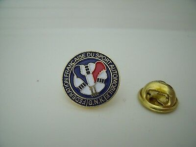 Pin's Pin Badge FFSA Fédération Francaise Sport Auto French Federation Sport Car