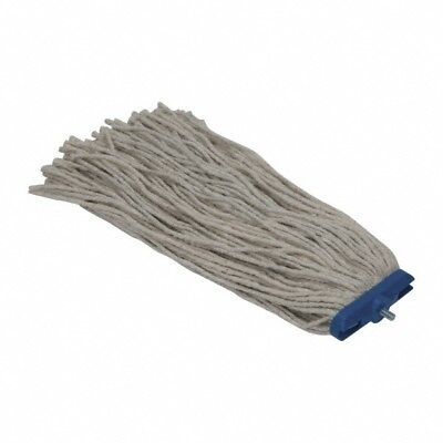 """Pro-Source 1"""" Head Band, L Size Mop Head, 4 Ply, Lay-Rite Cut-End, Wet Mop"""