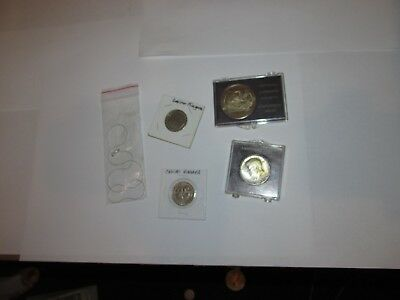Medals / Tokens / Coins and more plus 1964 Silver Half Dollar .......4660