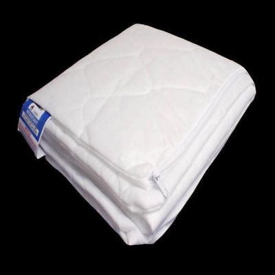 Quilted Baby COT MATTRESS Fully Breathable 120 X 60 X 10 CM Cover Only