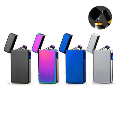 USB Electric Rechargeable Flameless Windproof Cigarette Pipe Lighter
