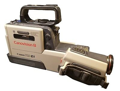 CANON VM-E1 Vintage Video Canovision 8  8mm Movie Film Camcorder