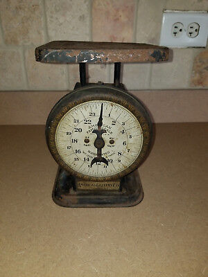 Antique American Cutlery Family Scale