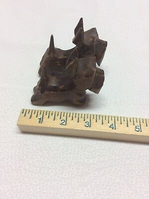 Vintage Set of two 2 wood carved Scottie Scotty Dogs