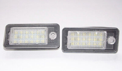 Kit Luces De Matrícula LED tuv AUDI A3 8p-A4 B6+ B7-A6 4f-Q7