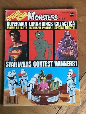 Famous Monsters #151 March 1979 - Star Wars - A Warren Magazine