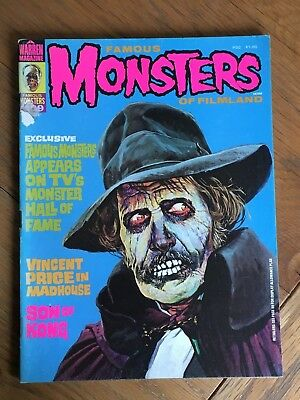 Famous Monsters of Filmland #109 March 1974 - A Warren Magazine - Vincent Price
