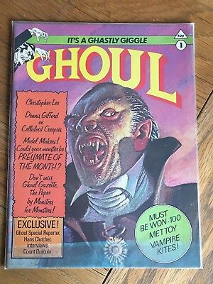 Ghoul No.1 April 1991 New English Library 1976 - Chetwynd-Hayes, Walter Gillings