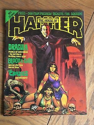 The House of Hammer - Vol.1 No.6 June 1977 - British Horror Dracula etc