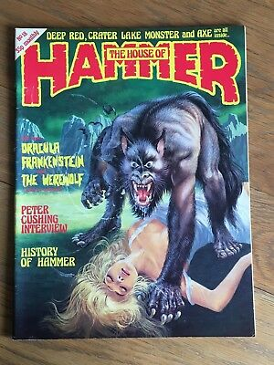 The House of Hammer - Vol.2 No.6 - 18 March 1978 Dracula, History of Hammer etc