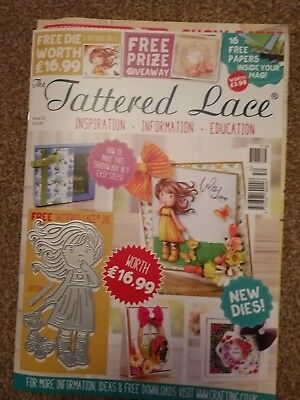 Tattered Lace Magazine Issue 52 Including Die