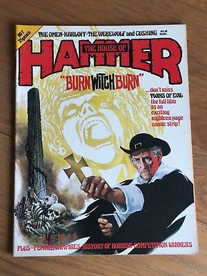 The House of Hammer - Vol.1 No.7  Jan-Feb. 1977 - Burn Witch Burn etc