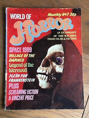 World of Horror - No.7 Space 1999, Vincent Price, Village of the Damned etc