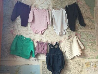 Baby Gap Baby Girl S Clothes Bundle 0 3 Months X 8 Items 3 99