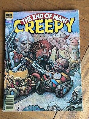 Creepy #116 March 1980 - Warren Mag. - The End of Man !