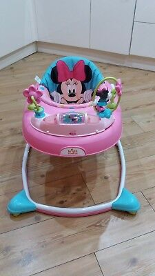 Minnie mouse musical baby walker