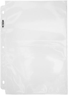 """Pro 2-Pocket Photo Page Sleeve, 71/8""""x51/2"""", (100 Count)"""