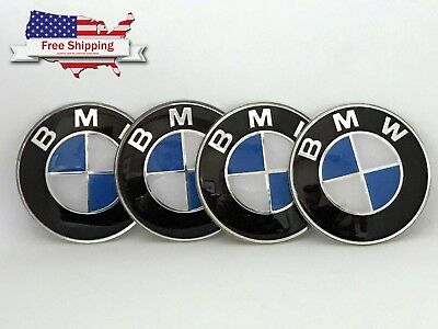 For Bmw Wheel Emblem Logo Badge Center Cap Stickers 65Mm
