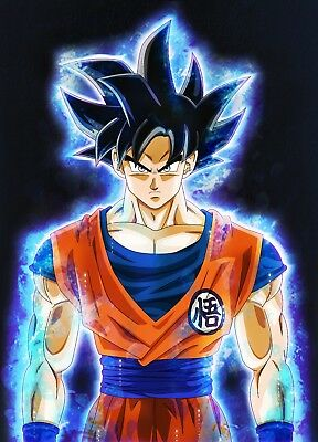 Poster 42x24 cm Dragon Ball Super Vegeta Doctrina Egoista Ultra Instinct 01