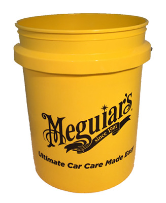 Meguiars Yellow 18.9 Litre Wash Bucket