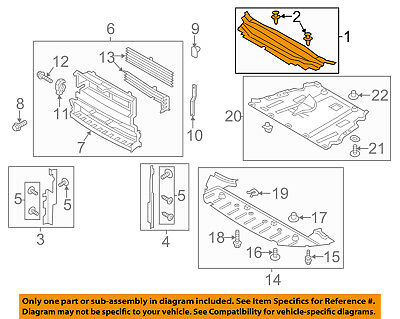 FORD OEM 15-16 Mustang Radiator Core Support-Mount Bracket Right FR3Z16C198B