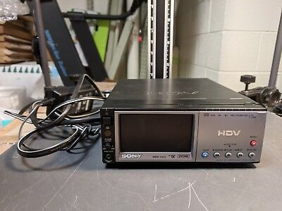 Sony HVR-M10U HDV Compact Player/Recorder VTR with Built-In LCD Monitor