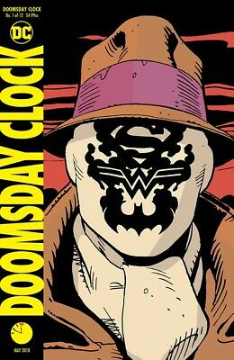 Doomsday Clock #1 (Of 12) 3Rd Ptg Watchmen Dc Comics Near Mint