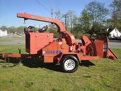 Very Nice Morbark Storm  2012D 12 Inch Disc Chipper Only 1795 Hours