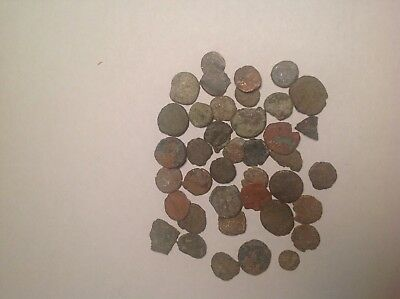 Lot of 40 Ancient Roman? Byzantine? Coins