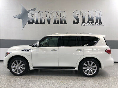 2014 Infiniti QX80  2014 QX80 RWD V8 Premium Loaded Leather GPS Roof Luxury TX SUIV