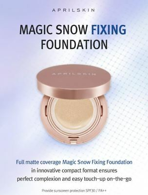 BIG SALE [April skin] Magic Snow Fixing Foundation SPF30 /  AU Seller